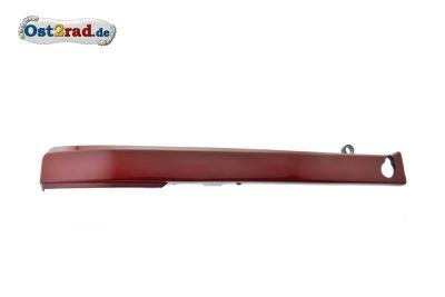 Verkleidung Sitzbank seitlich links JAWA 638 rot