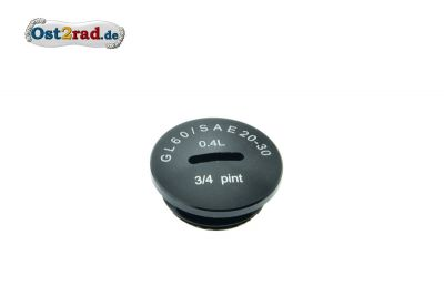Cap for Clutch adjustment SIMSON Alu black