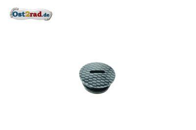 Cap for Clutch adjustment SIMSON aluminium carbon