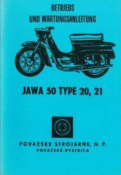 Betriebs- und Wartungsanleitung JAWA 50 Pionier Typ 20 21 deutsch