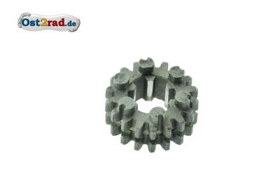 Gear 18 tooth for Jawa Pionyr 20, 21, Mustang