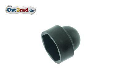 Ziermutterkappe, Abdeckung - Kunststoff schwarz -  Für Mutter- bzw. Schraubenkopf mit Schlüsselweite 24mm