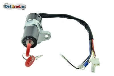 Ignition switch MZ, MuZ, Kanuni, ETZ, Saxon, Rotax, Steering lock