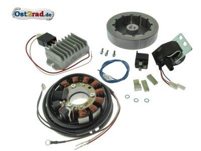 Zündanlage 12V elektronik Jawa 351 352  CZ 125C 150C