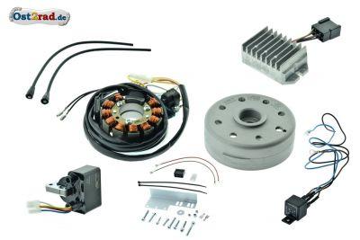 Kit allumage électronique complet 12V JAWA CZ 125 150 175 250