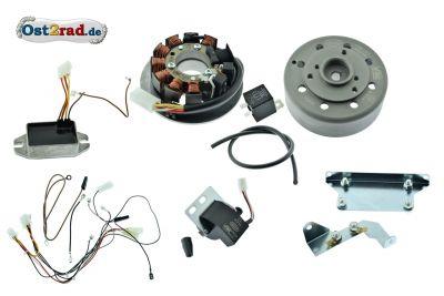 Allumage électronique complet 12V SIMSON KR51/2 S51 S70 SR50