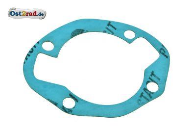 Zylinder Fußdichtung für alle MZ 250 ccm  4 Gang Motoren TS250 , ES250 , ETS250 und ES175 Plastasit blau