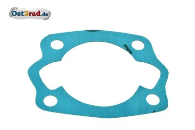 Zylinderfußdichtung JAWA 125ccm ,Typ 355 Plastasit blau