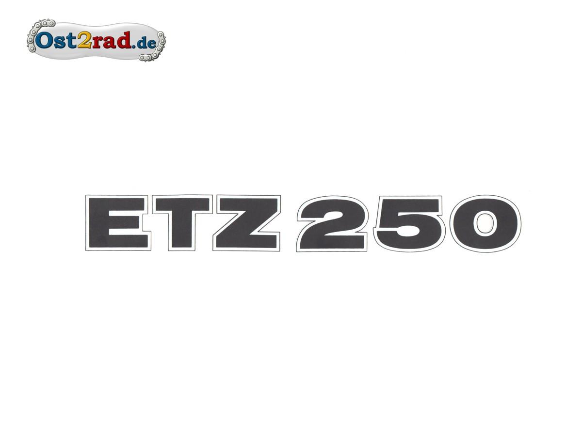 Aufkleber Mz Etz250 Rot Matt