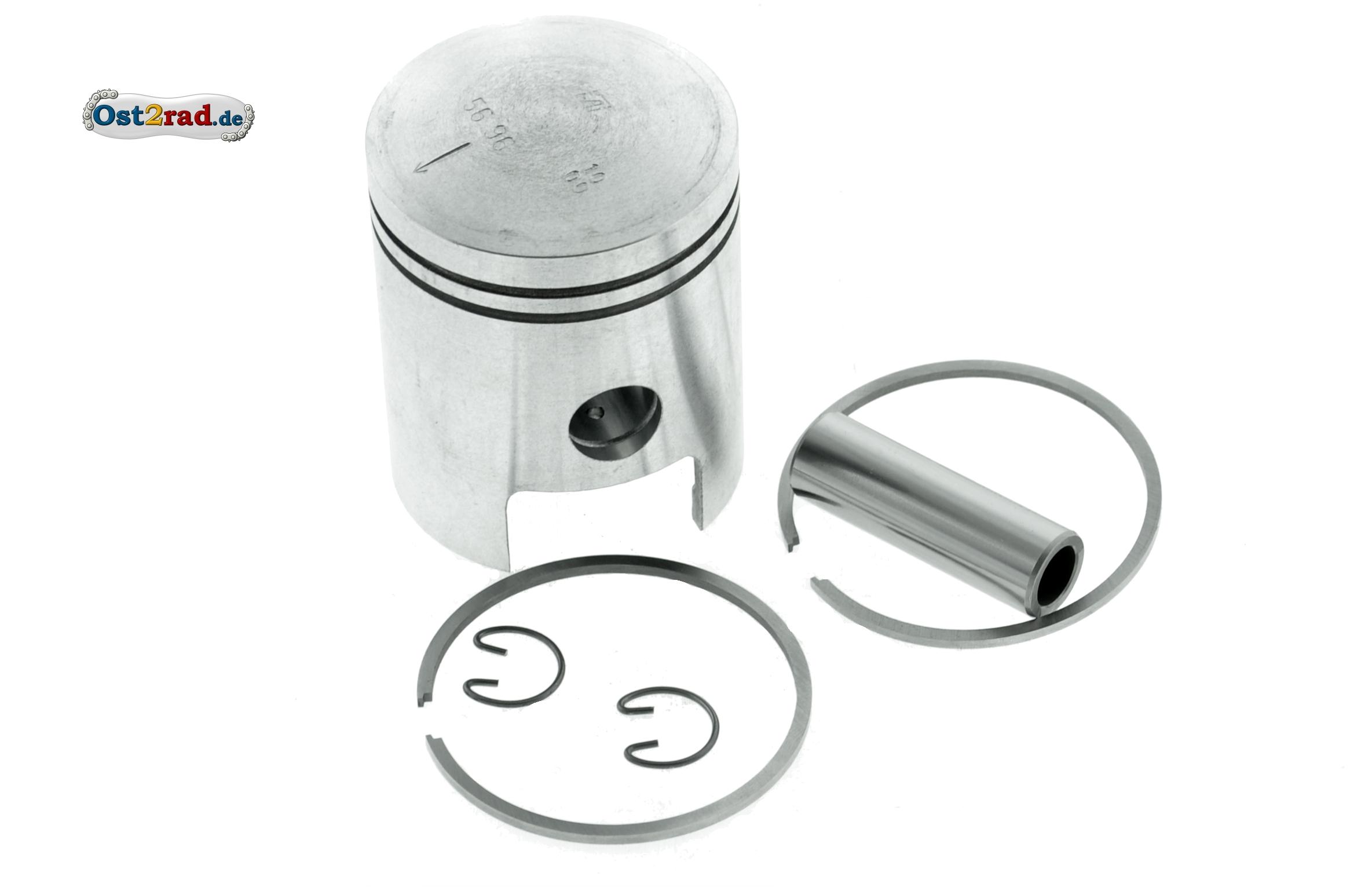 56,50 mm Kolben komplett für MZ ETZ150 originale Materialmischung