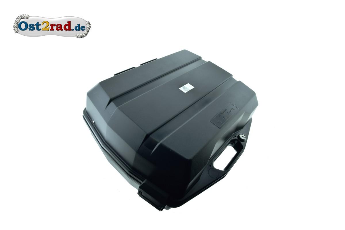 schwarz Koffer Seitenkoffer Moped 26 Liter