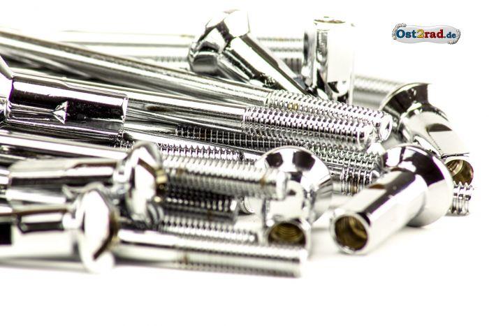für MZ ES 175 250 Kleeblatt Speichensatz Vorderrad