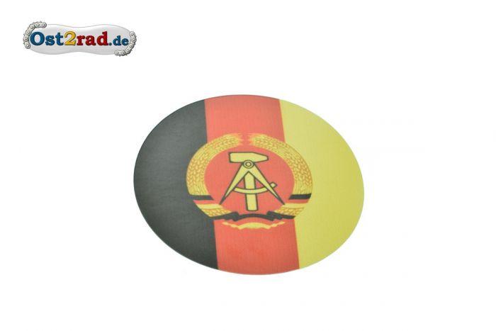 Aufkleber Staatswappen DDR klein 8cm