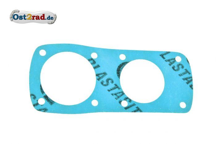 Dichtung Abschlussdeckel zum Getriebegehäuse MZ BK 350 Plastasit blau