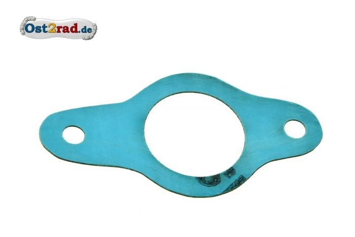 Dichtung zum Ansaugstutzen passend für MZ ETZ 125, 150 Plastasit blau