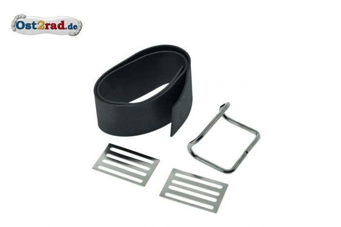 dick Lenkergriffgummi Set für SIMSON SR1 SR2 KR50 Spatz ballig grau