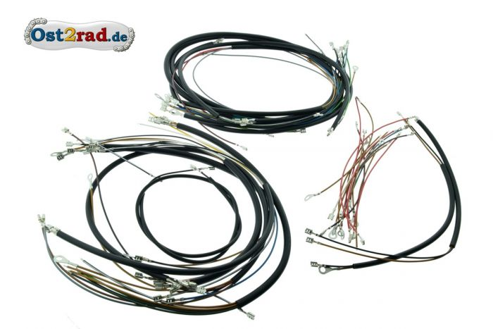 Cable set, cable harness ETZ with revolution counter
