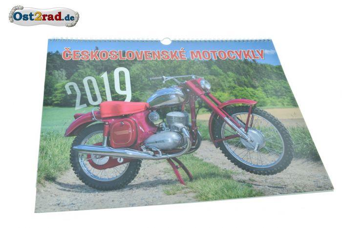 Kalender 2019 JAWA und CZ Modelle