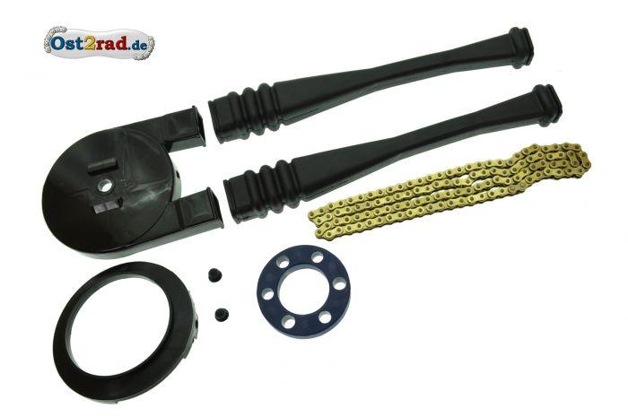 Kettenkit für Simson S51 S70, Sport Tuning, verstärkt