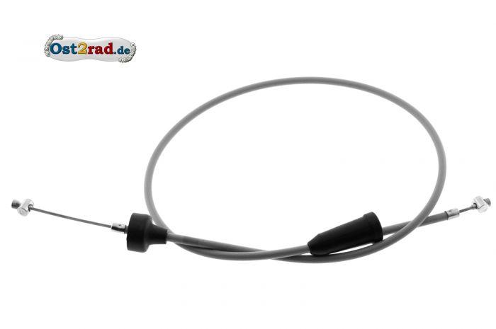 Bowdenzug, Kupplung - grau - TS250, 250/1, ETS250 - Flachlenker