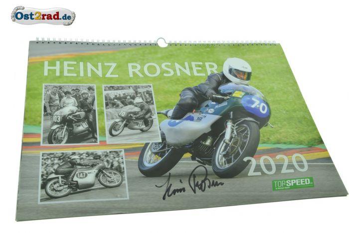 MZ Kalender 2020 Heinz Rosner, Handsigniert