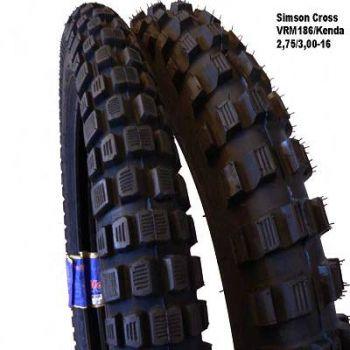 simson cross set of tires winter tires s51. Black Bedroom Furniture Sets. Home Design Ideas