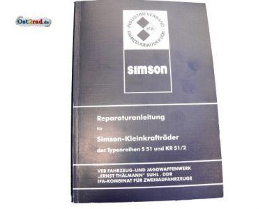 Repair Manual SIMSON S51 and Schwalbe KR51 / 2
